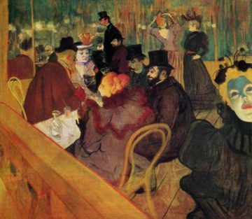 At the Moulin Rouge 1892 | Henri Toulouse Lautrec | Oil Painting