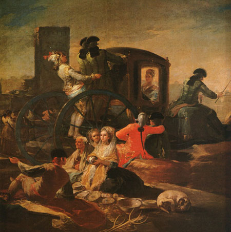 The Pottery Vendor 1779 | Francisco de Goya | Oil Painting