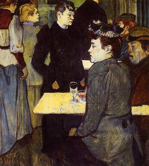 A Corner in the Moulin de la Galette 1892 | Henri Toulouse Lautrec | Oil Painting