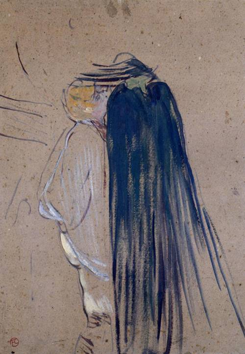 A Day Out 1893 | Henri Toulouse Lautrec | Oil Painting