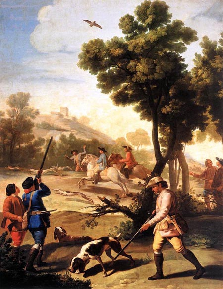 The Quail Shoot 1775 | Francisco de Goya | Oil Painting