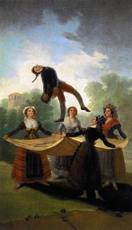 The Straw Manikin | Francisco de Goya | Oil Painting