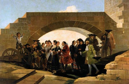 The Wedding 1791 1792 | Francisco de Goya | Oil Painting