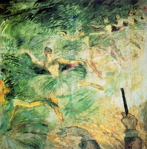 Ballet Dancers 1885 | Henri Toulouse Lautrec | Oil Painting