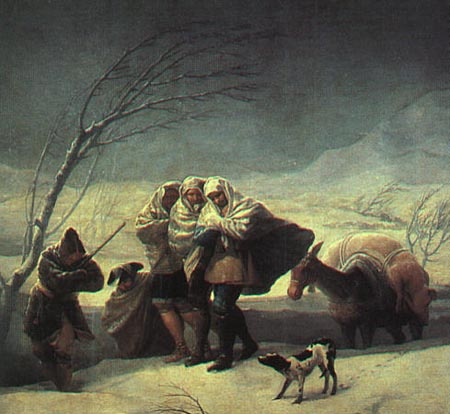 Winter 1786 | Francisco de Goya | Oil Painting