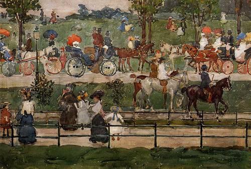 Central Park 1900 | Henri Toulouse Lautrec | Oil Painting