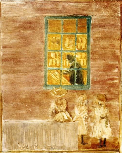 Children by a Window 1900-1902 | Henri Toulouse Lautrec | Oil Painting