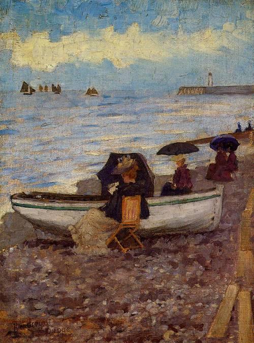 Dieppe 1892-1894 | Henri Toulouse Lautrec | Oil Painting