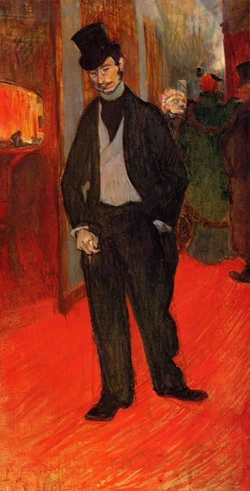 Dr.Gabriel Tapie de Celeyran 1894 | Henri Toulouse Lautrec | Oil Painting