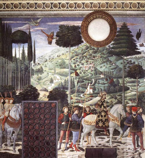 Procession of the Middle King 1459 1460 | Benozzo di Lese di Sandro Gozzoli | Oil Painting