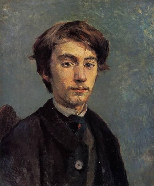 Emile Bernard 1885   Henri Toulouse Lautrec   Oil Painting