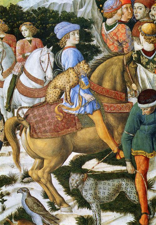 Portrait Of Giuliano De Medici 1460 | Benozzo di Lese di Sandro Gozzoli | Oil Painting