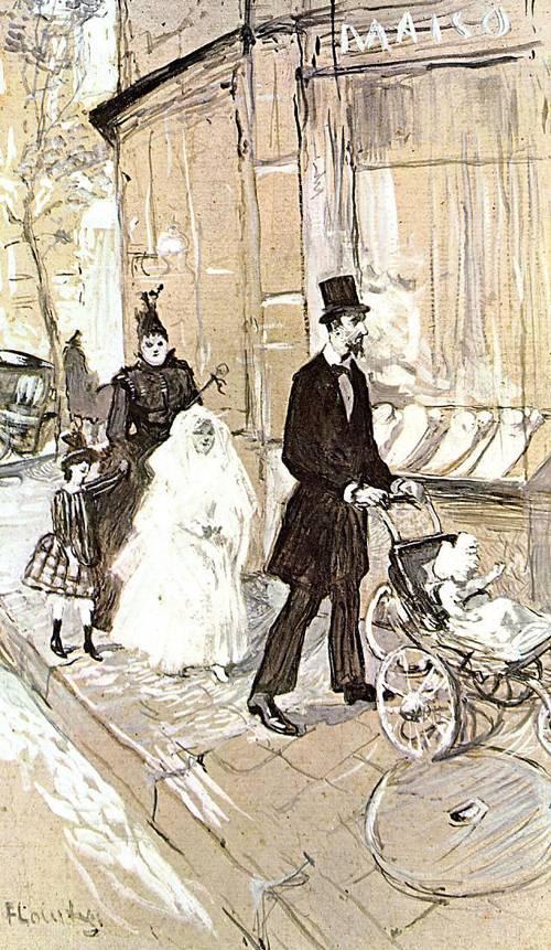 First Comunion 1888   Henri Toulouse Lautrec   Oil Painting