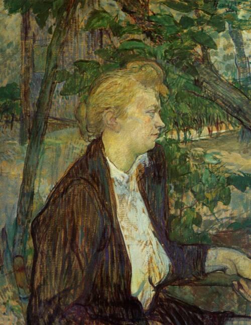 Gabrielle 1891   Henri Toulouse Lautrec   Oil Painting