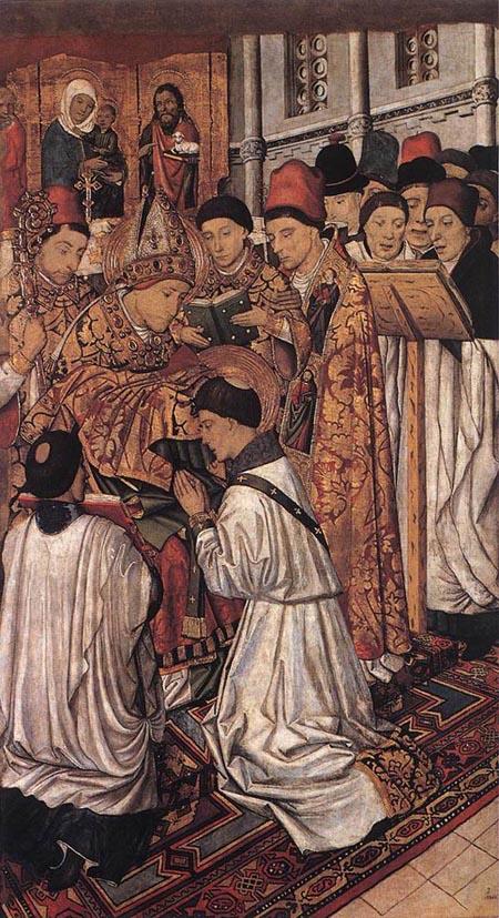 Vinzenz Altarpiece 1458 | Jaume Huguet | Oil Painting