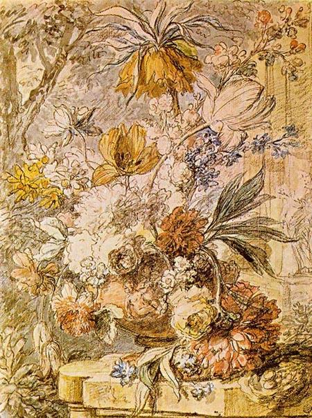 Vase of Flowers | Jan Van Huysum | Oil Painting