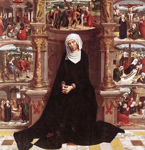 Our Lady of the Seven Sorrows 1518 1535 | Adriaen Isenbrandt | Oil Painting