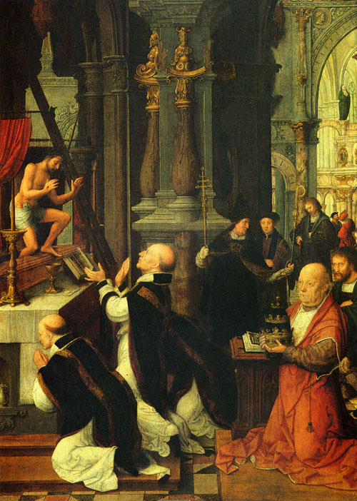 The Mass Of St Gregory | Adriaen Isenbrandt | Oil Painting