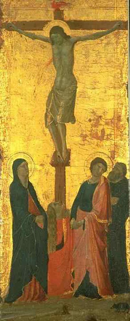 Crucifixion 1340 1345 | Jacopo del Casentino | Oil Painting
