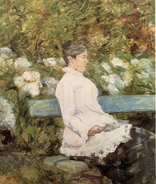 Madame la Comtesse A. de Toulouse-Loutrec 1881-1882 | Henri Toulouse Lautrec | Oil Painting