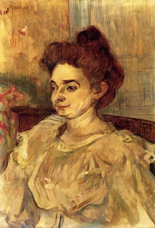 Mademoiselle Beatrice Tapie de Celeyran 1897 | Henri Toulouse Lautrec | Oil Painting