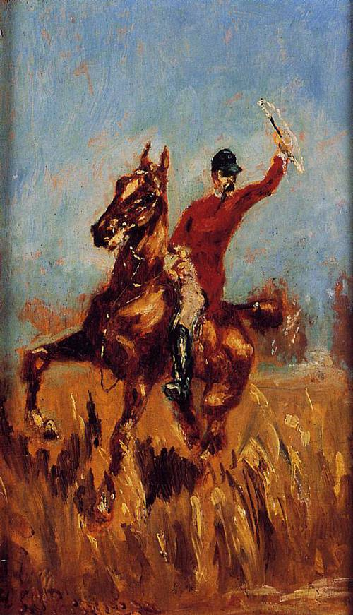 Master of the Hunt 1882 | Henri Toulouse Lautrec | Oil Painting