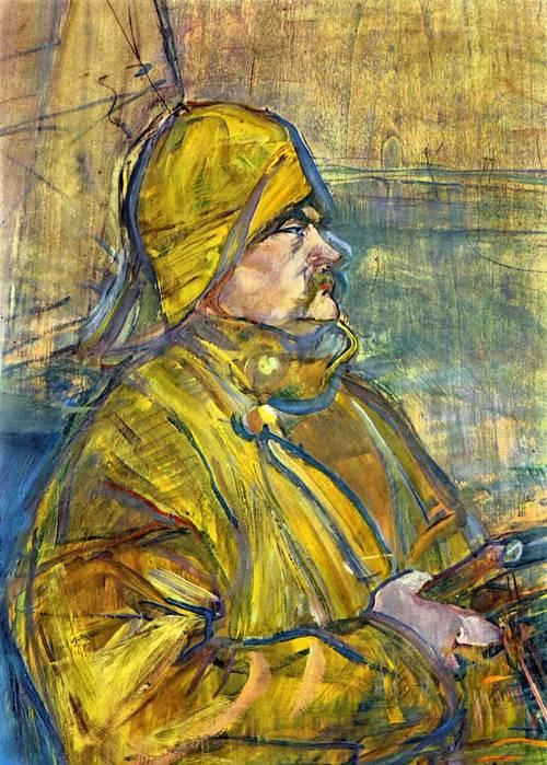 Maurice Joyans (detail) 1900 | Henri Toulouse Lautrec | Oil Painting