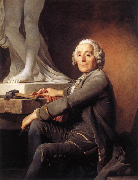 Christophe Gabriel Allegrain Sculptor 1774 | Joseph Siffrein Duplessis | Oil Painting