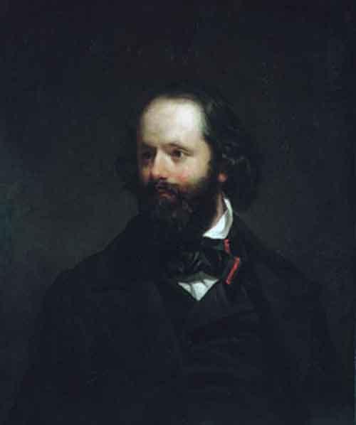 Portrait of the Artist 1850 | Charles Loring Elliott | Oil Painting