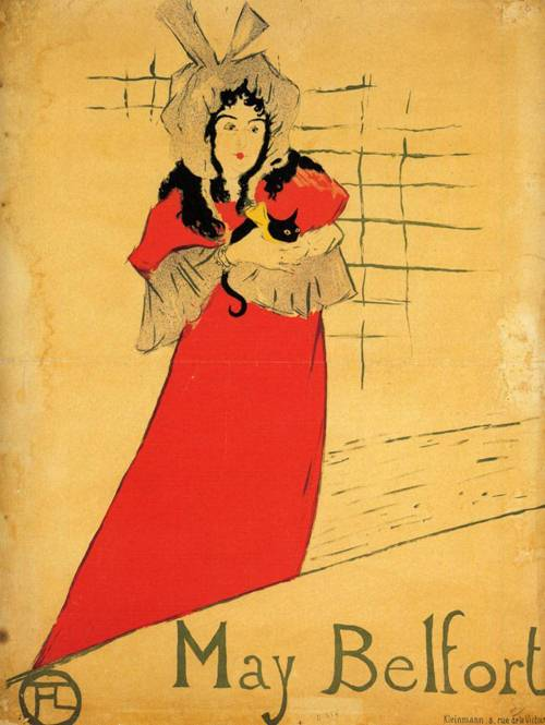 May Belfort 1895 | Henri Toulouse Lautrec | Oil Painting