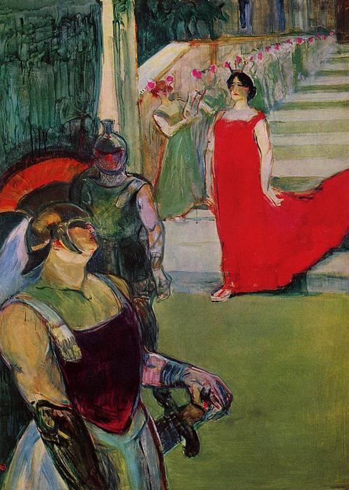 Messaline 1900-1901 | Henri Toulouse Lautrec | Oil Painting