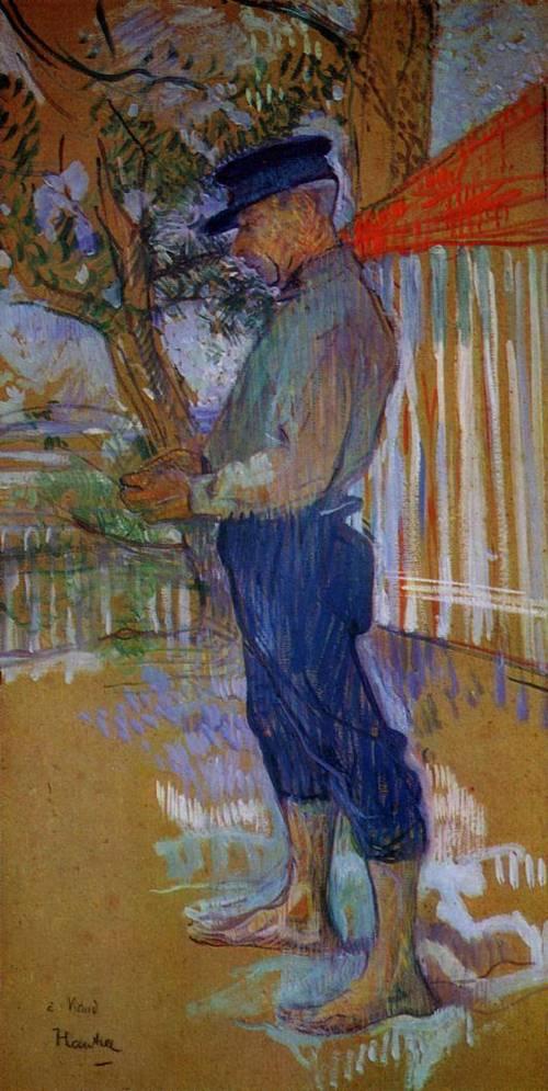 Monwieur Paul Viaud Taussat Arcachon 1900 | Henri Toulouse Lautrec | Oil Painting