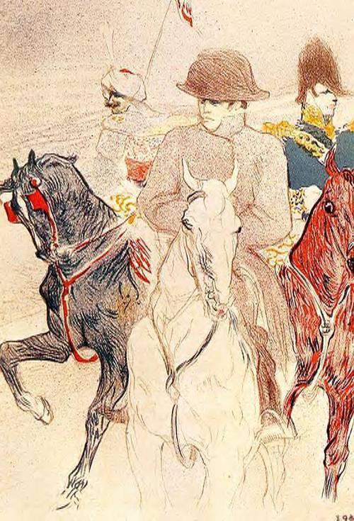 Napoleon Bonapart 1895 | Henri Toulouse Lautrec | Oil Painting