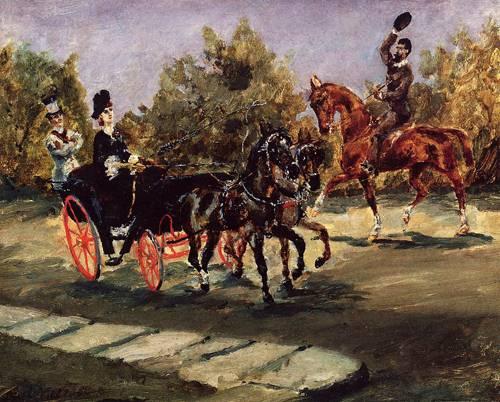 Nice on the Promenade des Anglais 1880 | Henri Toulouse Lautrec | Oil Painting