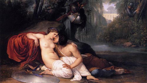 Rinaldo and Armida 1812 1813 | Francesco Hayez | Oil Painting