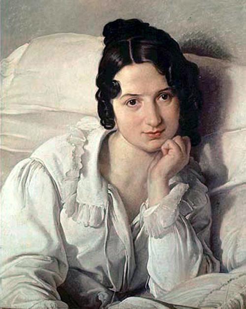 Portrait of Carolina Zucchi 1825 | Francesco Hayez | Oil Painting