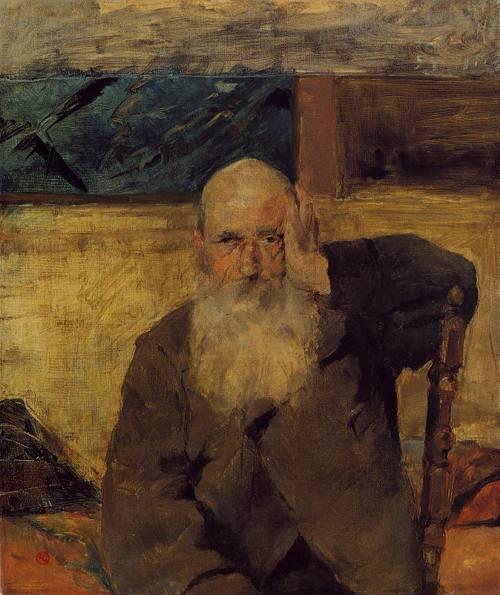 Old Man at Celeyran 1882 | Henri Toulouse Lautrec | Oil Painting