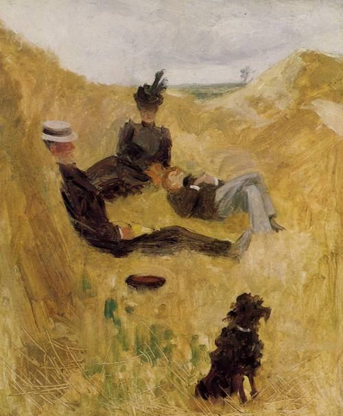 Party in the Country 1882 | Henri Toulouse Lautrec | Oil Painting
