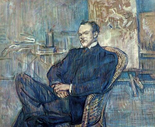 Paul Leclercq 1897 | Henri Toulouse Lautrec | Oil Painting