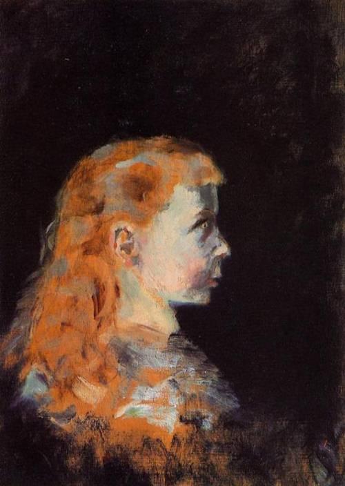 Portrait of a Child 1882 | Henri Toulouse Lautrec | Oil Painting