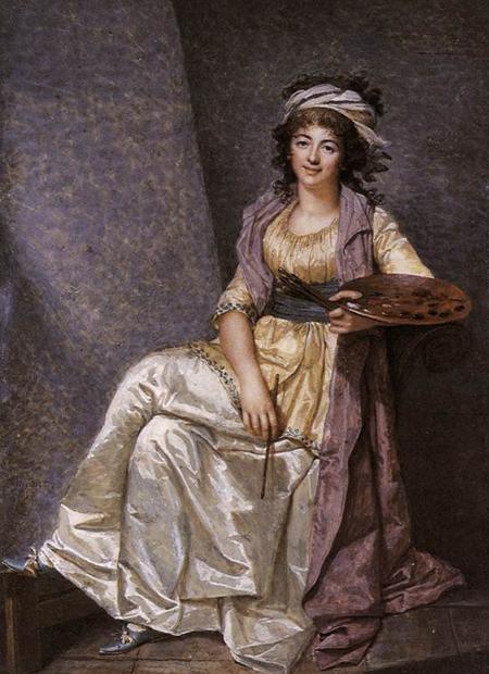 Marguerite Gerard 1793 | Francois Dumont | Oil Painting