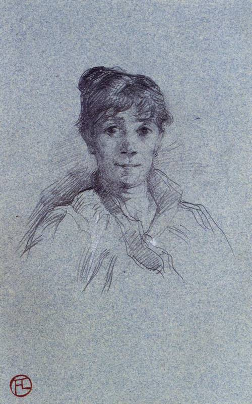 Portrait of a Woman 1888 | Henri Toulouse Lautrec | Oil Painting