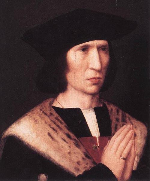 Portrait of Paulus de Nigro 1518 | Adriaen Isenbrandt | Oil Painting