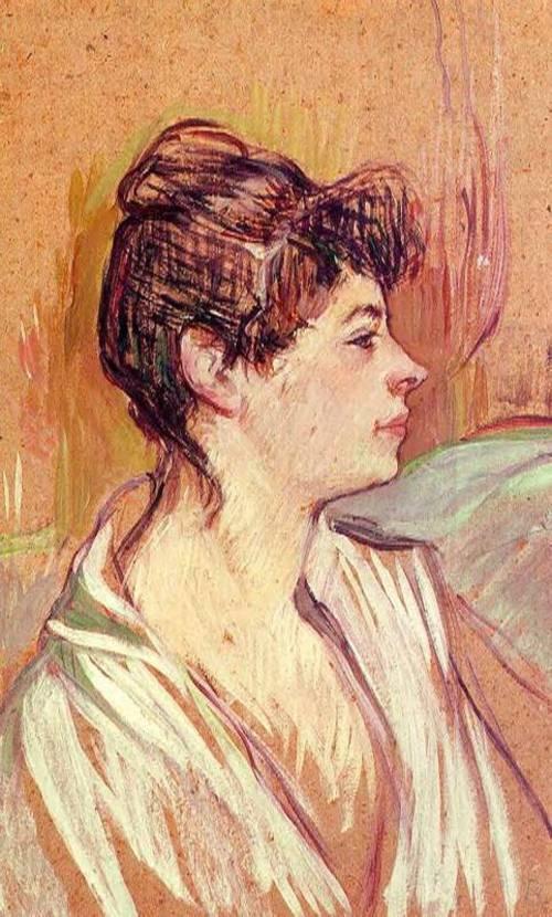 Portrait of Marcelle 1893-1894 | Henri Toulouse Lautrec | Oil Painting