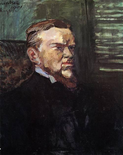Portrait of Octave Raquin 1901 | Henri Toulouse Lautrec | Oil Painting