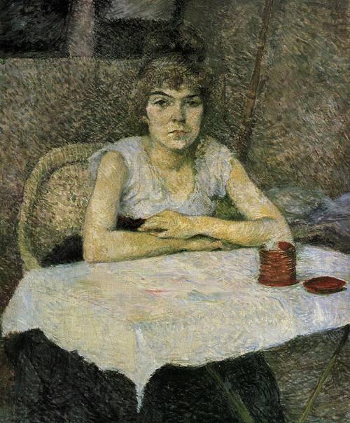 Rice Powder 1887 | Henri Toulouse Lautrec | Oil Painting