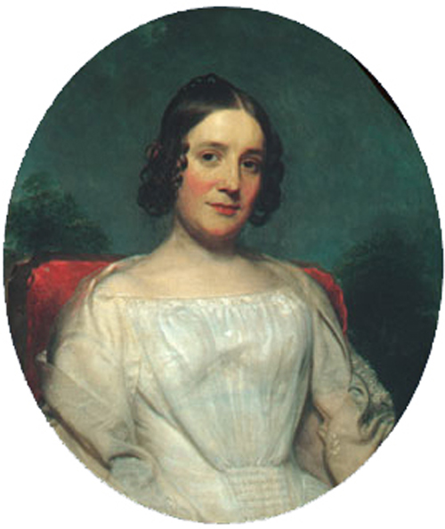 Mrs Adrian Baucker Holmes 1850 | Charles Wesley Jarvis | Oil Painting