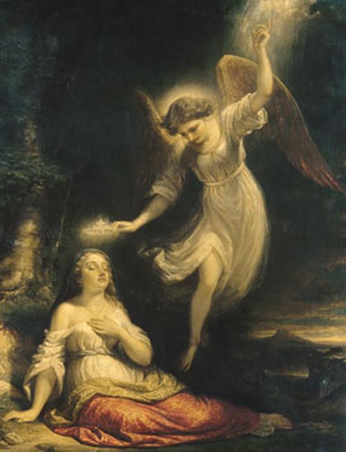 Mercys Dream 1858 | Daniel Huntington | Oil Painting