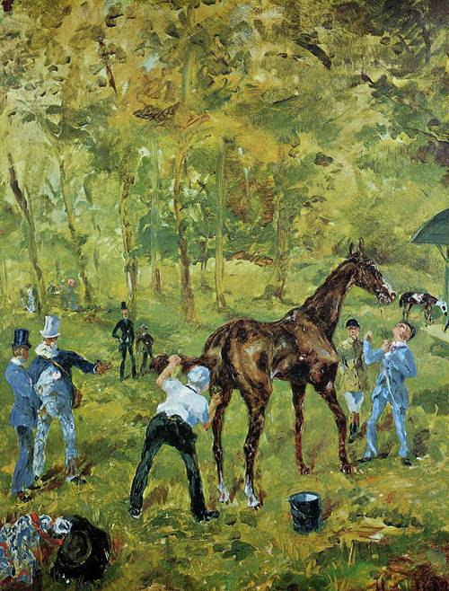 Souvenir d Auteuil 1881 | Henri Toulouse Lautrec | Oil Painting