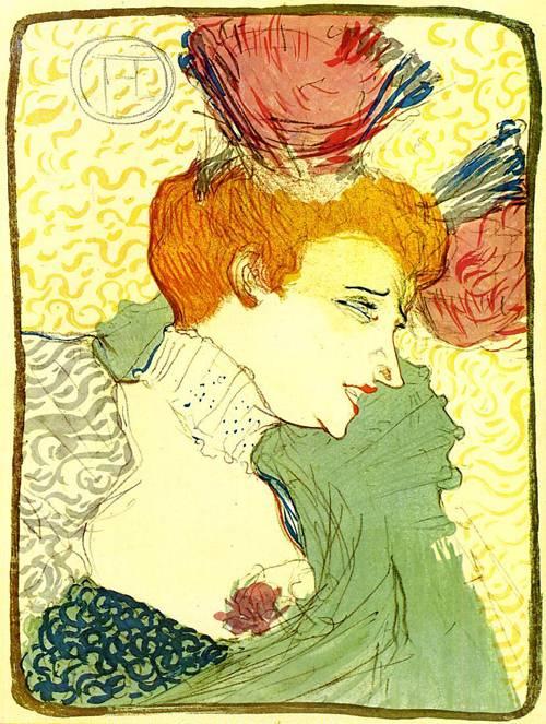 The Actress Marcelle Lender 1895 | Henri Toulouse Lautrec | Oil Painting
